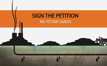 No to tar sands image