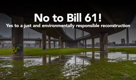 Against a bill that sacrifices the environment in the name of economic recovery image