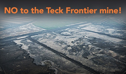 Say NO to the Teck Frontier project image